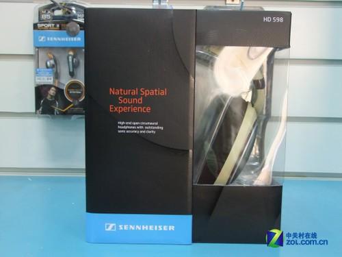 森海塞尔HD598外包装