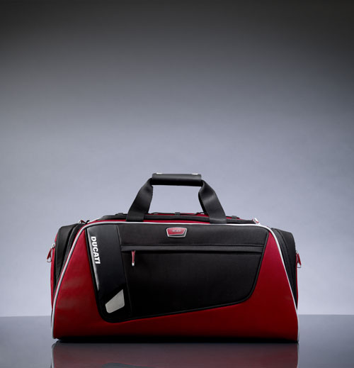 Tumi+Ducati 跨界设计限量版旅行箱包:走出登机口时的愉悦