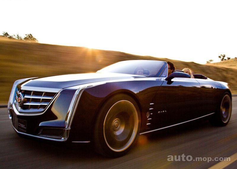 凯迪拉克ciel 挑战宝马7系 凯迪拉克旗舰车搭3.0t引擎 高清图片
