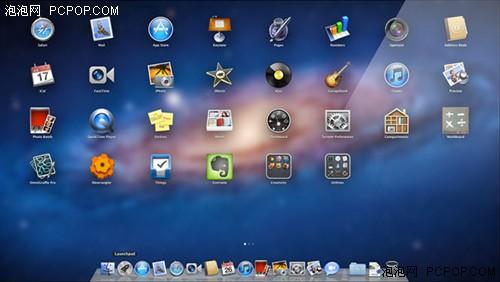 苹果mac os x系统桌面