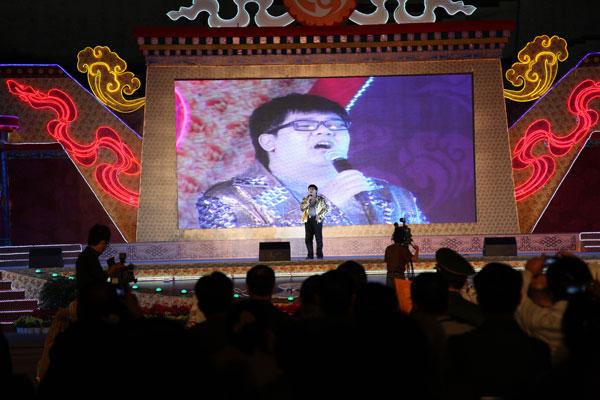 """中央台音乐之声首次协办""""2011中国拉萨雪顿节"""""""