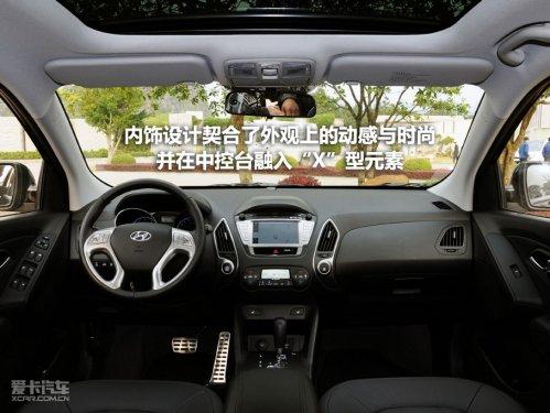 上海车市 韩国现代SUV车型ix35优惠缩减至3000元高清图片