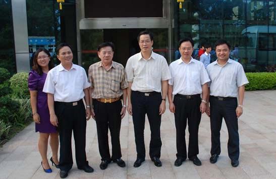 广州市副市长陈明德莅临保赐利调研指导