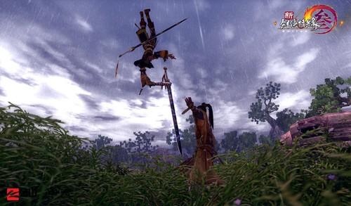 《新剑网3》新版本&轻功揭秘 唯美视频