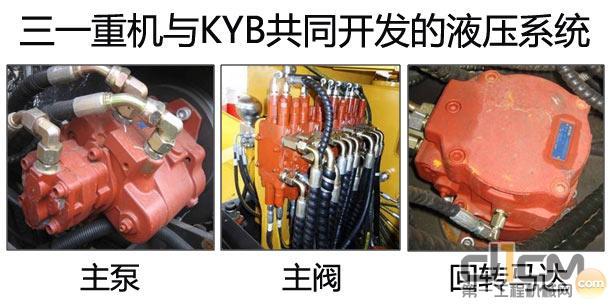 三一sy55c-9液压挖掘机勇者征; 挖掘机大型 结构件依靠自主研; 三一sy