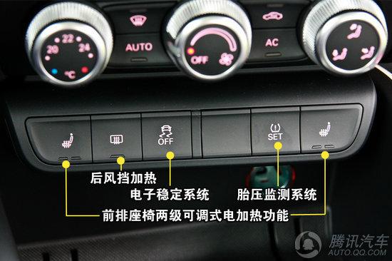 汽车内部按钮图解
