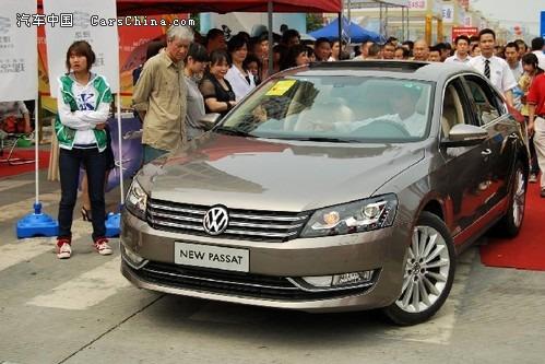 上海大众全新帕萨特在中国一直是商务车的代表之一,而大众高清图片