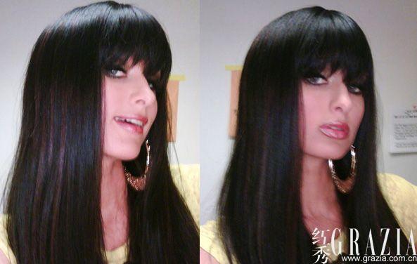 黑发才fashion 各国美女的黑发情结