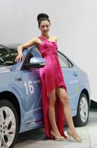 上汽荣威550混动版展台车模