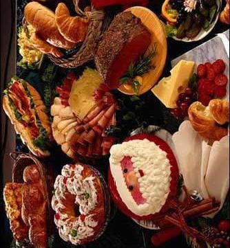 圣诞节日世界美食地图