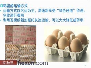 鸡蛋的运输方式