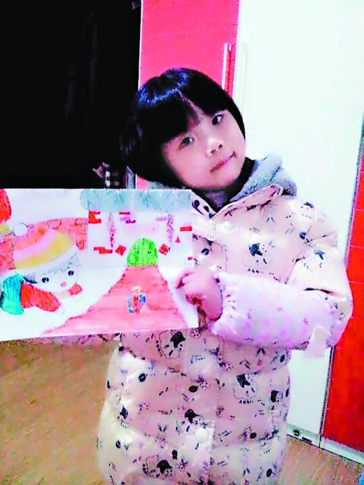 """红旗小学二年级学生冯瀚米:""""你喜欢我的手抄报"""