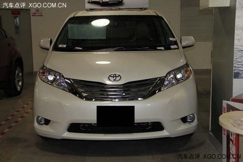 新款顶配丰田塞纳3.5 四驱商务车仅64万 高清图片