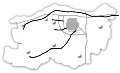 陇海路西延快速通道西南绕城高速至s232段 郑登快速通道 巩义 登封