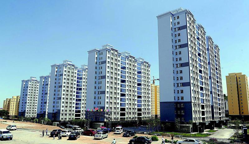 是乌鲁木齐市首个全高层廉租房住宅小区.