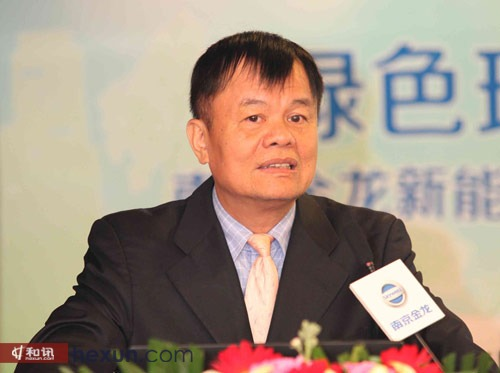 南京金龙客车制造有限公司董事长 黄宏生