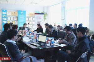 2014年河南上市公司诚信公约阳光行走进新天科技
