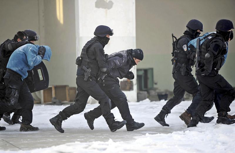 乌鲁木齐市公安局特警八支队
