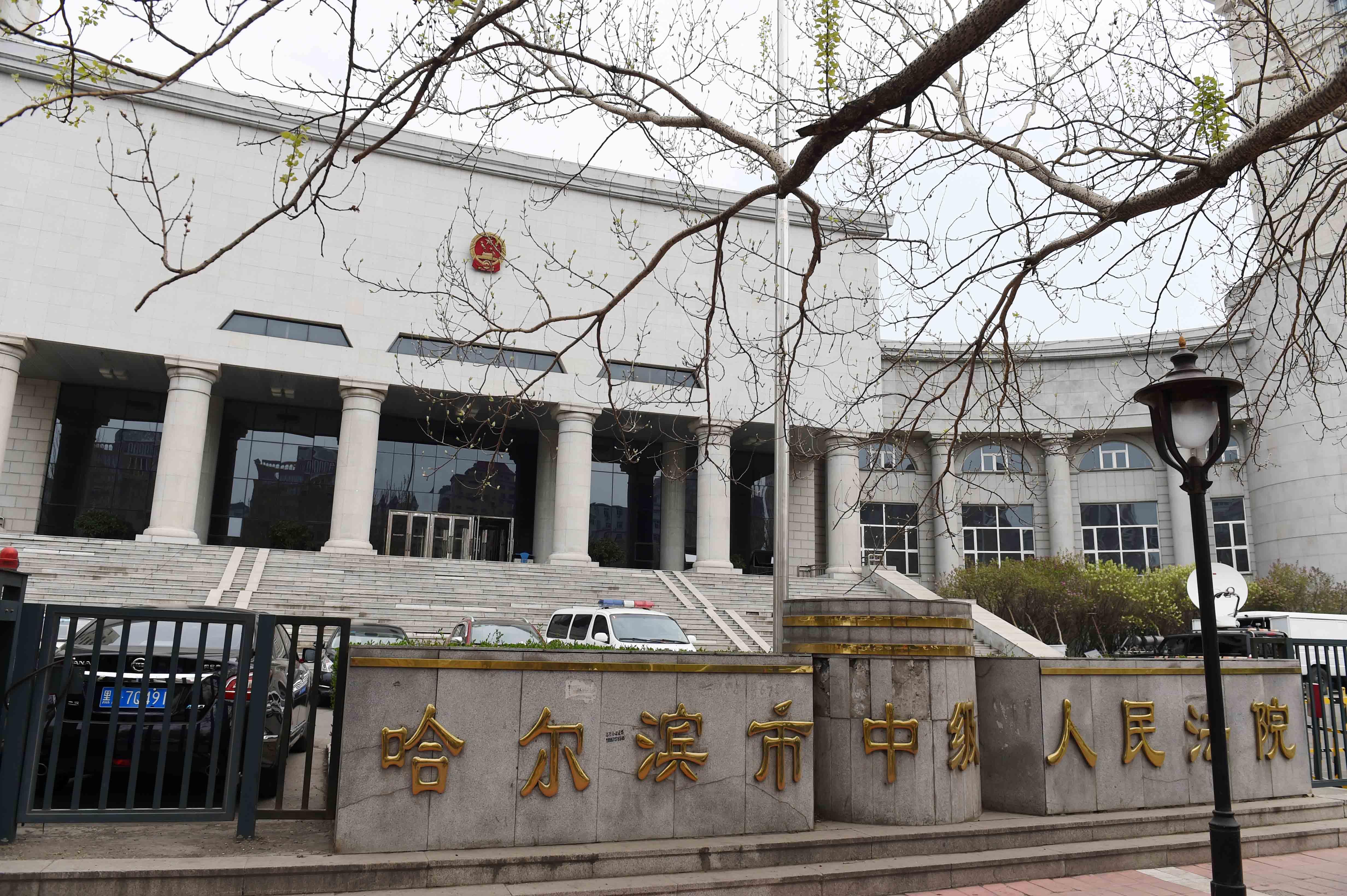 审理由哈尔滨市人民检察院提起公诉的被告人高玉伦