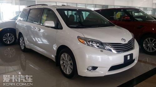 2015款新车报价 丰田塞纳商务车 现车低价狂促销 优惠