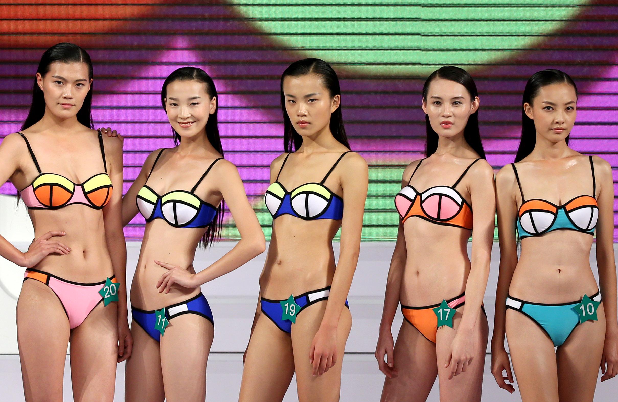 (锐视角)(3)模特之星大赛在京举行