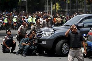 印度尼西亚首都雅加达发生爆炸