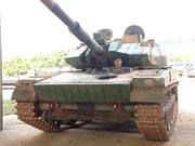国产新轻型坦克正面照曝光