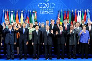 聚焦2012年G20墨西哥峰会