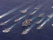 美军航母战斗群进入南海