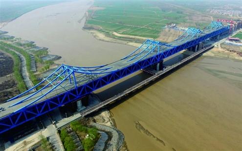 阅�_飞阅黄河桥