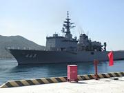 日本海上自卫队舰船再次停靠越南金兰湾