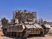以研60吨步战车配电磁装甲